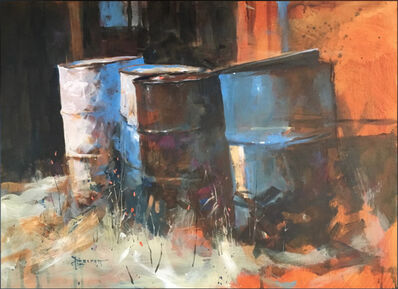 Peter Leckett, 'Behind The Forge', 2018