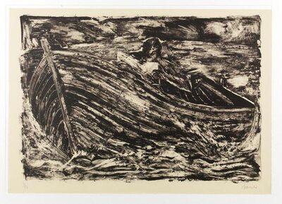 Miquel Barceló, 'Autoportrait -La barca', 1983