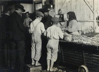 Lewis W. Hine, 'Untitled (Shrimp Pickers), Biloxi, Mississippi', 1911