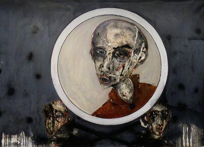 Jean Schmiedel, 'Kopf im Kreis', 2010