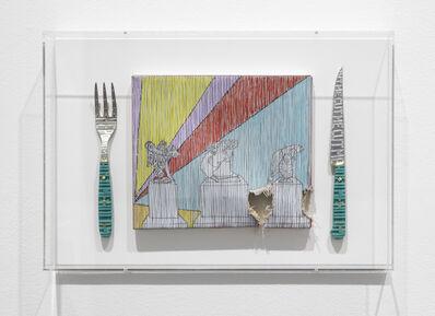 Thomas Broomé, 'Eaten While Eating (II)', 2019