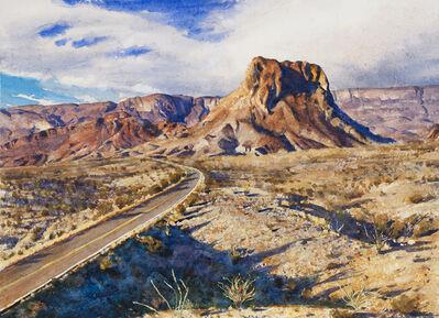 Bob Stuth-Wade, 'Cerro Costolon from Las Tres Gunas', 2017