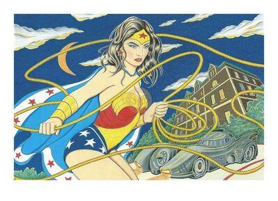 Joe Chierchio, 'Wonder Woman', 21st Century