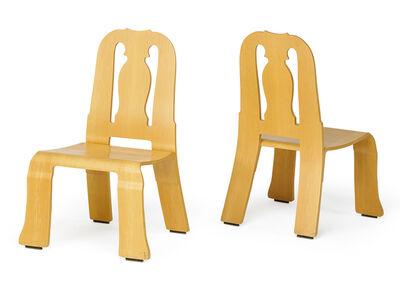 Robert Venturi, 'Pair of Queen Anne chairs, New York', 1980s