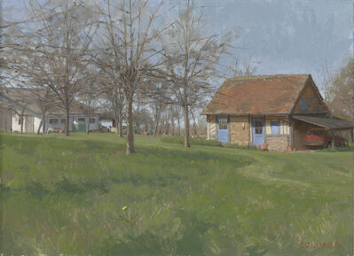 Jacob Collins, 'Normandie Cottage with Apple Trees', 2016