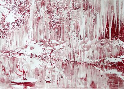 Malgosia Jankowska, 'Roter Wasserfall', 2014