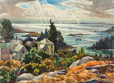 William Lester Stevens, 'Epic of Vinalhaven, Maine', 19th -20th Century