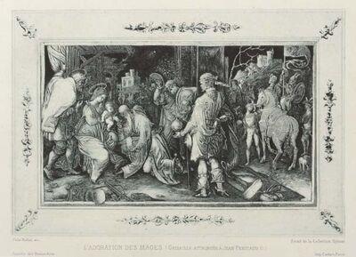 Félix Hilaire Buhot, 'L'adoration des mages', 1881