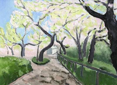 Li Shan  李珊 (b. 1957), 'Sakura Impressions (Memories about Japan) 樱花印象 (日本记忆)', 2020