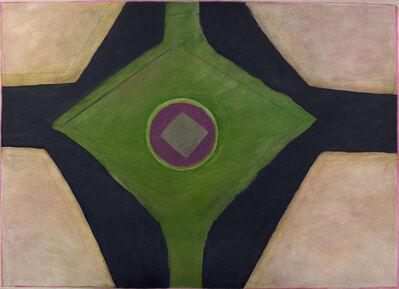 Ida Kohlmeyer, 'Geometric', c. 1968