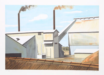 Clarence Holbrook Carter, 'American Factory', 1980