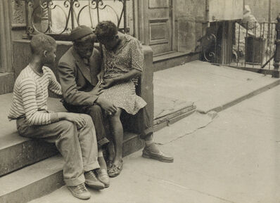 Helen Levitt, 'N.Y. (children on stoop).', Circa 1940