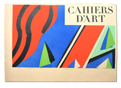 Henri Matisse, 'Cahiers d'Art, nos. 3-5, edition deluxe', 1936