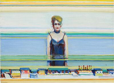 Wayne Thiebaud, 'Cosmetic Lady', 1983-86