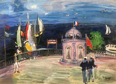 Carlos Nadal, 'Balcón sobre el mar', ca. 1985