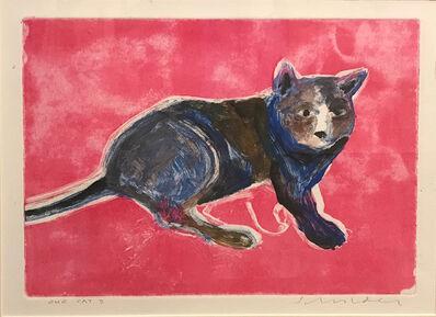 Fritz Scholder, 'One Cat '