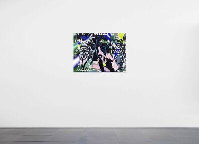 Zhong Wei, 'Blue Reaction No.3', 2019