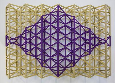 Rasheed Araeen, 'Jaamni (Purple Diamond)'