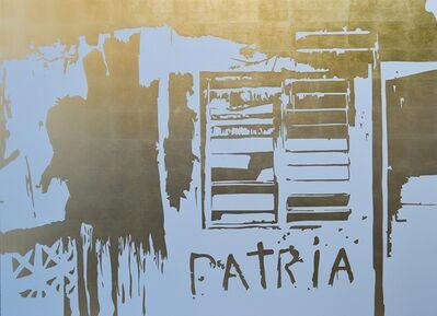 José Ángel Vincench, 'Pintura de accion (Patria)', 2018