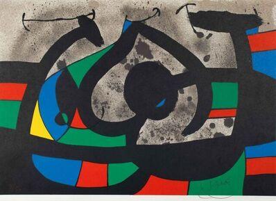 Joan Miró, 'Le Lézard aux plumes d'or ', 1971
