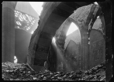 Josef Sudek, 'Emmaüs – intérieur de l'église', 1945