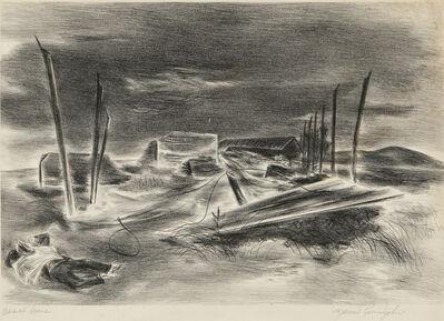 Yasuo Kuniyoshi, 'Deserted Brickyard', 1939