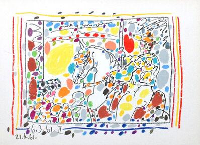Pablo Picasso, 'Le Picador (II), from A Los Toros Avec Picasso', 1961