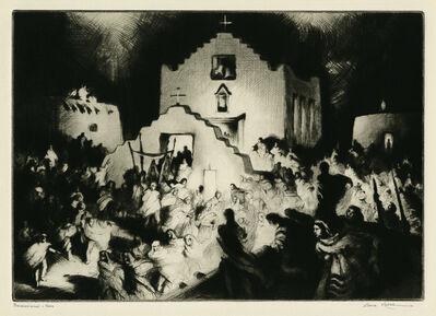 Gene Kloss, 'Processional - Taos', 1948