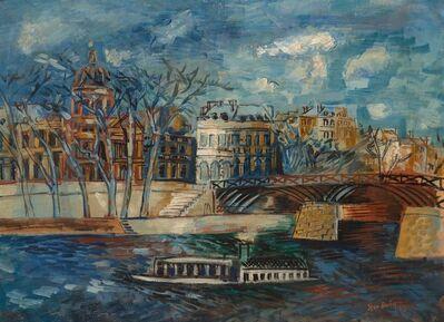 Jean Dufy, 'L'Institut et la Passerelle des Arts', 1929