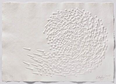Günther Uecker, 'Huldigung an Hafez - Motiv 42', 2015-2015