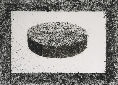 Ronald Davis, 'Black Disc', 1983