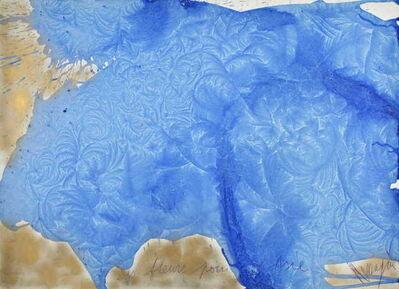 Jean Messagier, 'Des fleurs pour l'Asie', 1973