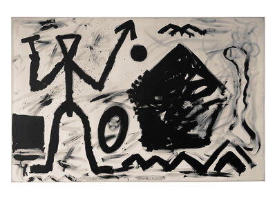 A.R. Penck, 'Untitled II (Alpha Gamma)', 1981