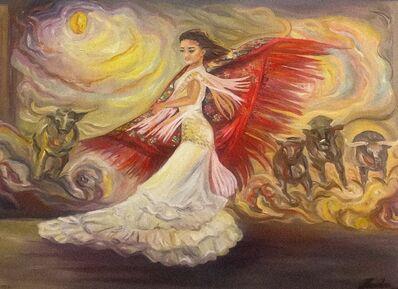 Nicolas, 'Flamenco, Passion and courage', 2019