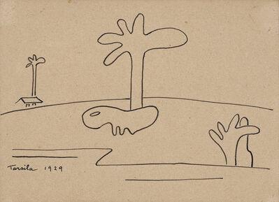 Tarsila do Amaral, 'Paisagem Com Bicho Antropofágico II', 1939