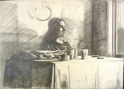 Sidney Goodman, 'Woman at a Table', ca. 1975