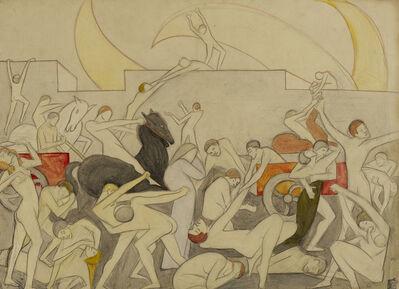Clare Winsten, 'Attack', ca. 1910