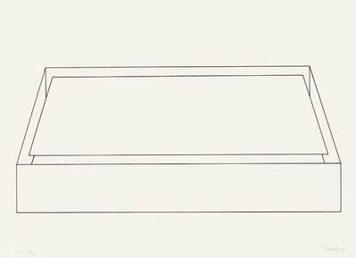 Donald Judd, 'Untitle (Schellmann 83)', 1974