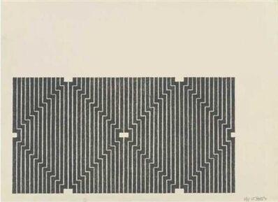 Frank Stella, 'Casa Cornu', 1970