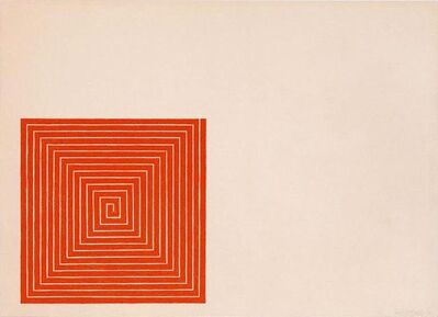 Frank Stella, 'New Madrid (Benjamin Moore Series)', 1971
