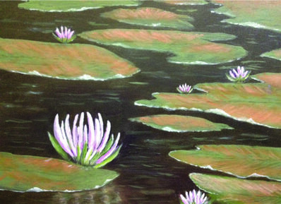"Annette Tan, '""Lily Pond""'"