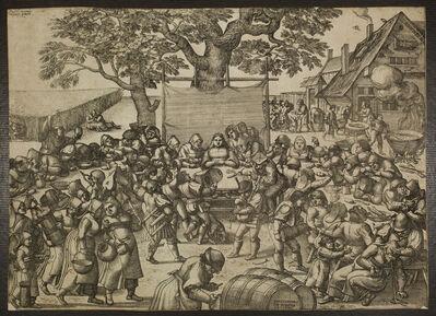 Peter van der Borcht, 'The Large Wedding Feast', 1560