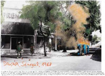 """Marcelo Brodsky, 'From the series """"1968, The fire of the ideas"""", Dakar, Sénégal, 1968', 2014-2017"""