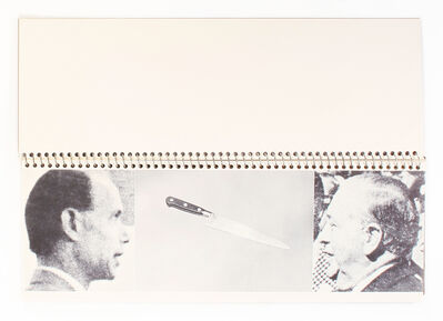 John Baldessari, 'Brutus Killed Caesar', 1976