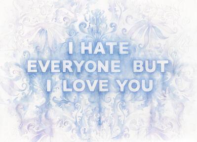 Amanda Manitach, 'I Hate Everyone But I Love You', 2018