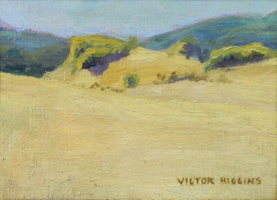 Victor Higgins, 'Yellow Rock and Green Mountains', ca. 1918
