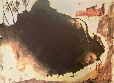 Salvador Dalí, 'Flood Waters Over The Earth, 'Aquae Diluvii Super Terram', Biblia Sacra', 1967