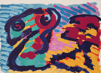 Karel Appel, 'Untitled - Snake', ca. 1980