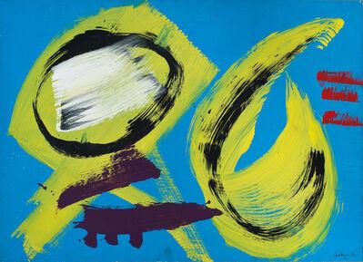 Gérard Schneider, 'Untitled', 1974