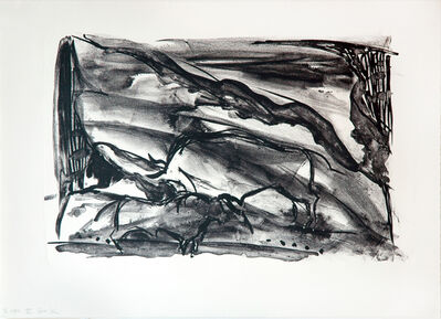 Elaine de Kooning, 'Water Wall (The Lascaux Series)', 1984